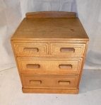 ARTS & CRAFTS BRYNMAWR OAK CHEST OF DRAWERS