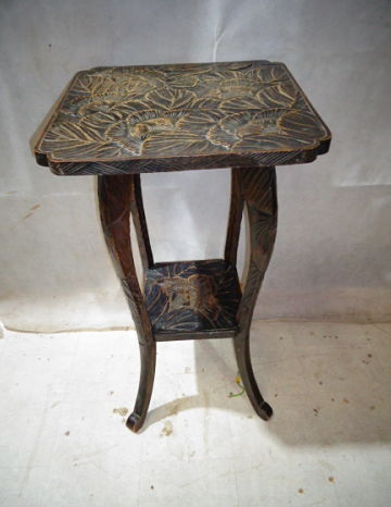 ANTIQUE VICTORIAN LIBERTY JAPANISM TABLE