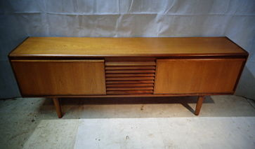 RETRO WHITE & NEWTON of PORTSMOUTH TEAK SIDEBOARD