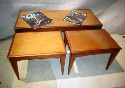 RETRO RICHARD HORNBY NEST OF TABLES