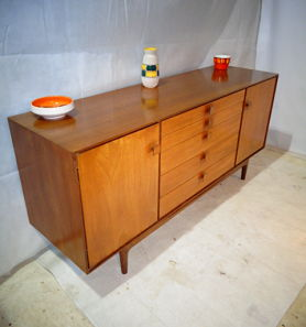 RETRO KOFOD LARSEN TEAK & ROSEWOOD SIDEBOARD for G PLAN